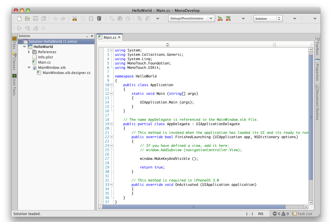 Using C# to Develop for iPhone, iPod